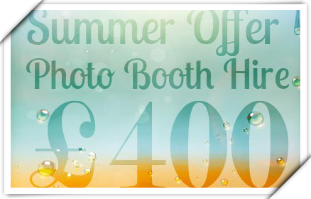 Great Summer Offers on Photo Booth Hire!